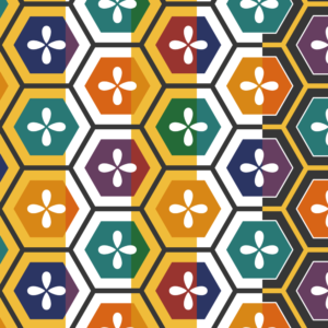亀甲パターン1