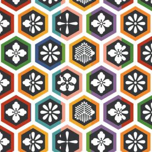 亀甲パターン2