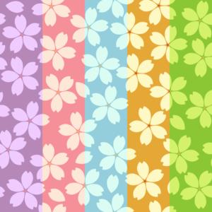 桜パターン1