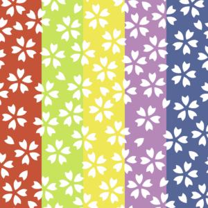 桜パターン3