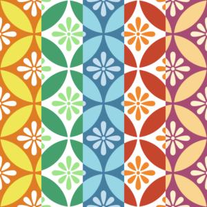 七宝パターン1 小花